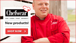New Products from Chefwear: The Look that Cooks!