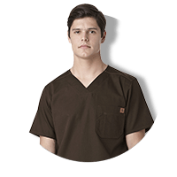 Brown Scrubs