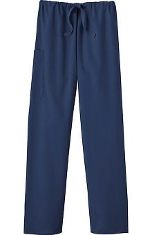 XLG: Fundamentals by White Swan Unisex Drawstring Scrub Pants