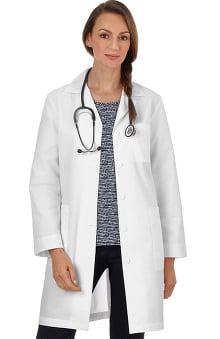 "META Labwear Women's Princess-Back 37"" Lab Coat"