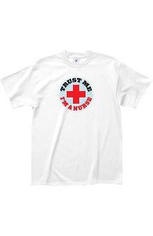 L.A. Imprints Attitude Trust Me, I'm a Nurse Print T-Shirt