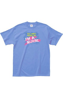 L.A. Imprints Attitude You Can't Scare Me...I'm a Nurse Print T-Shirt