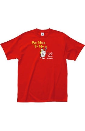 Clearance L.A. Imprints Attitude Be nice to me Print T-Shirt