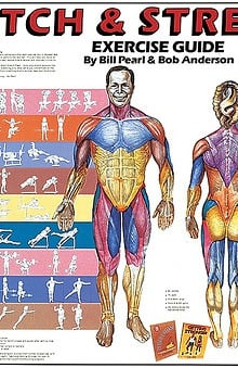 Anatomical Chart Company Stretch & Strengthen Anatomical Chart