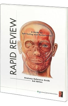 Anatomical Chart Company Anatomical Rapid Review Anatomy Reference Guide