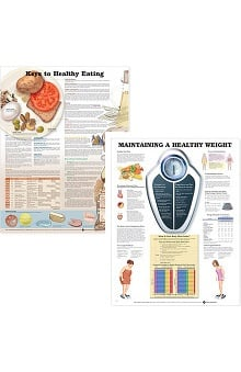Anatomical Chart Company Nutrition Chart & Healthy Weight Chart