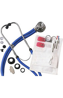 Clearance ADC® Nurse Combo Pocket Pal II™ Adscope™ 641 Sprague Stethoscope Kit