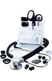 ADC Sprague Stethoscope & Color Coordinated Accessories Nurse Combo Kit