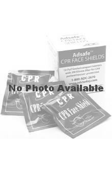 ADC Adsafe CPR Face Shield Foil Pouch - 10/Pack