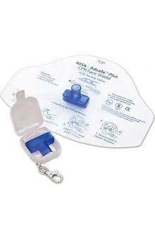 ADC Adsafe CPR Face Shield Plus with Keychain