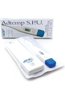 ADC Adtemp I 412 Digital Thermometer Single Patient Use Kits