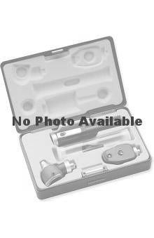 stethoscope ear buds: ADC Pocket Single Handle Otoscope/Opthalmoscope Set