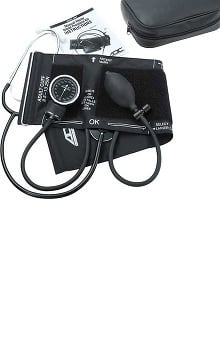ADC Manual Blood Pressure Kit with Attached Nurse Scope