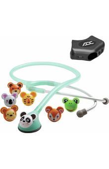 ADC® Adscope® Adminals™ 618 Platinum Pediatric Stethoscope