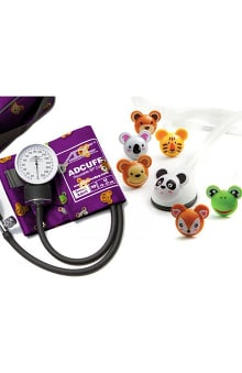 ADC® Pro's Combo Adimals™ Pocket Aneroid & Pediatric Stethoscope Kit