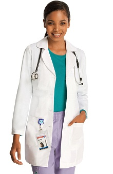 Universal Lab Coats by Adar Womens Women's 33 Belted Lab Coat
