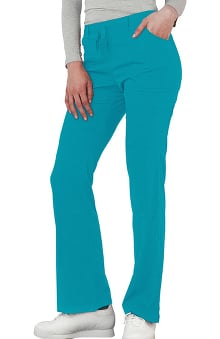 Indulgence by Adar Women's Low Rise Boot Cut Scrub Pant