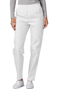 Universal Basics by Adar Women's Patch Pocket Cargo Scrub Pants