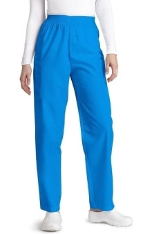 Clearance Universal Basics by Adar Women's Patch Pocket Cargo Scrub Pants