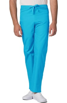 unisex pants: Universal Basics by Adar Unisex Drawstring Solid Scrub Pants