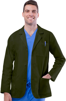 "unisex lab coat: Universal Lab Coats by Adar Unisex 30"" Consultation Lab Coat"