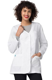 "Universal Lab Coats by Adar Women's 31"" V-Neck Consultation Lab Coat"