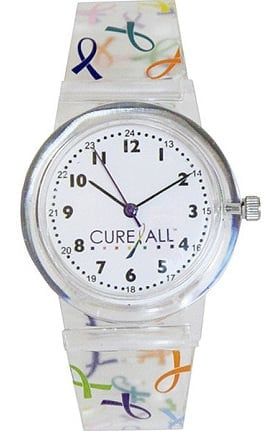 Scrub Stuff Women's Multi Ribbon Cure All Jelly Watch