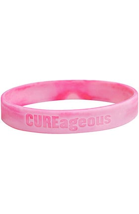 Scrub Stuff CUREageous Breast Cancer Awareness Silicon Bracelet