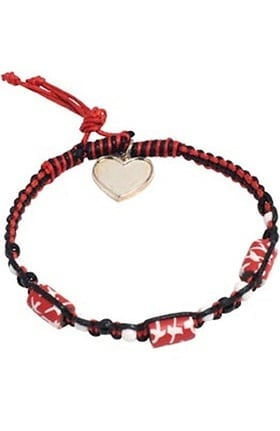 Scrub Stuff Women's Bracelet with Heart Charm