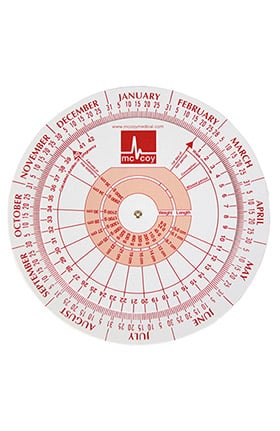 Scrub Stuff OBGyn Pregnancy Wheel