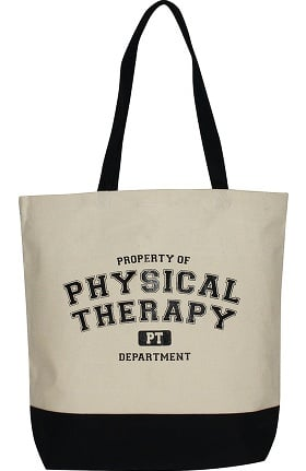 Scrub Stuff Physical Therapy Canvas Tote