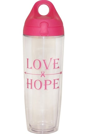 Scrub Stuff Love Hope Water Bottle