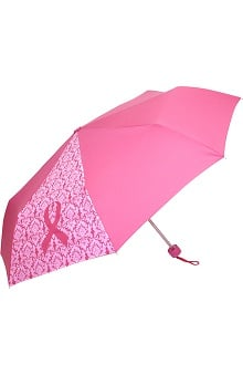 Scrub Stuff Women's Pink Ribbon Umbrella
