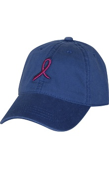 Scrub Stuff Women's Pink Ribbon Baseball Cap