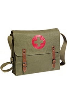 Scrub Stuff Unisex Canvas Medic Bag