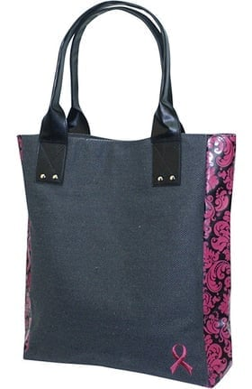 Scrub Stuff Women's Pink Ribbon Tote Bag