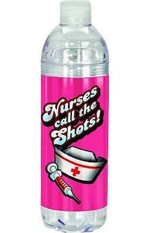 Scrub Stuff Nurses Water Bottle