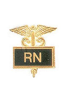 Arthur Farb RN Gold Plated Inlaid Emblem Pin