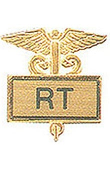 clearance: RT Gold Plated Inlaid Emblem Pin