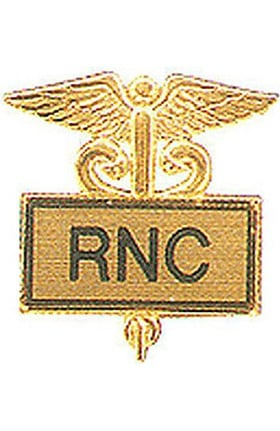 Arthur Farb RNC Gold Plated Inlaid Emblem Pin
