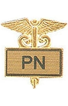 Arthur Farb PN Gold Plated Inlaid Emblem Pin