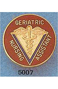 nursing assistants : Geriatric Nursing Assistant Pin