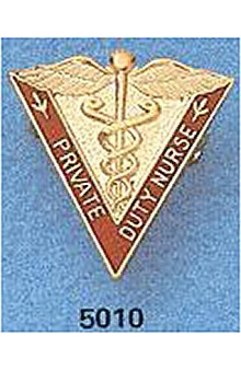 Arthur Farb Private Duty Nurse Pin