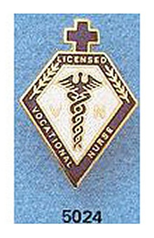 Arthur Farb Licensed Vocational Nurse Pin