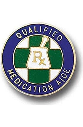 Arthur Farb Qualified Medication Aide Pin