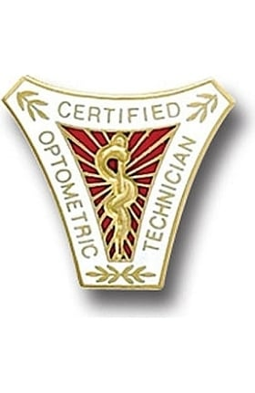 Arthur Farb Certified Optometric Technician Pin