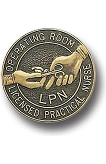 Arthur Farb Operating Room LPN Pin