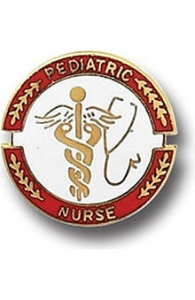 Arthur Farb Pediatric Nurse Pin