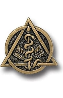 Arthur Farb Dental Insignia Pin