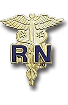 Gifts Accessories new: Registered Nurse Pin